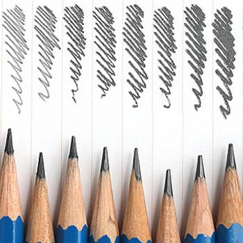 Classificazione delle matite: tipologie e durezza delle mine