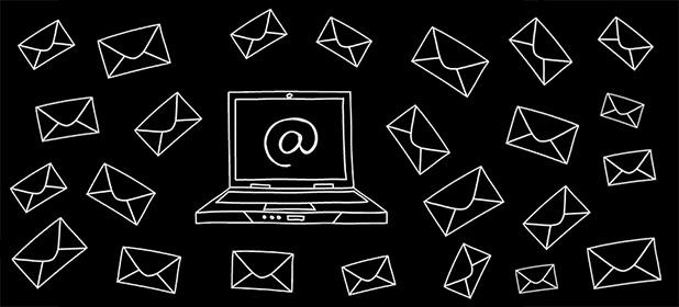 Email 3 volte al giorno
