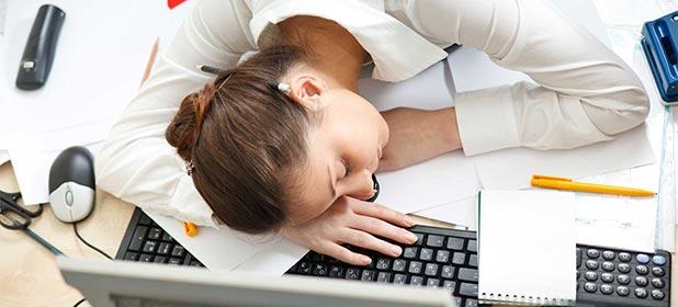 Restare svegli in ufficio