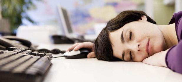 Mi sono addormentato in ufficio!