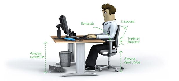 Scegliere sedia e scrivania per l'ufficio