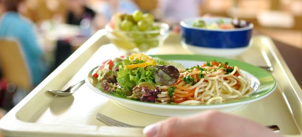 Usare i buoni pasto in mensa