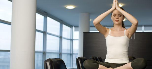 Meditazione in ufficio
