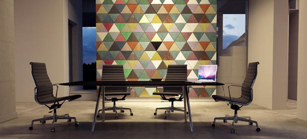 Scegliere colori per pareti ufficio