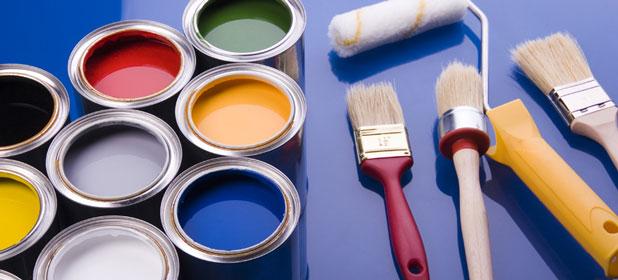 Dipingere le pareti dell'ufficio