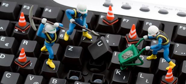 Pulizia schermo e tastiera del PC