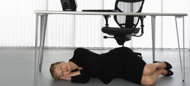 Fare un sonnellino in ufficio