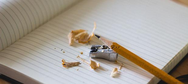 Il temperino per fare la punta alla matita