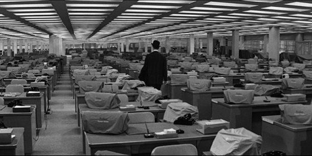 Film ufficio L'appartamento