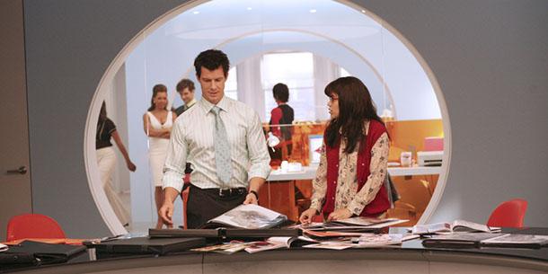 Serie TV ufficio Ugly Betty