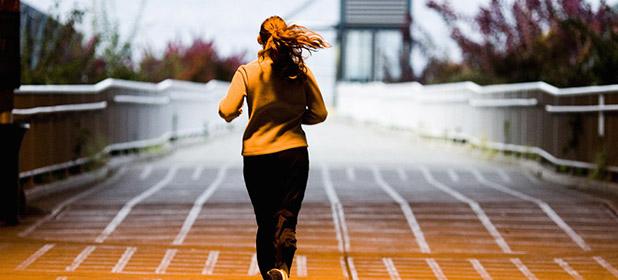 Jogging prima del lavoro