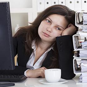 Mal d'ufficio, quando scatta l'insofferenza al lavoro