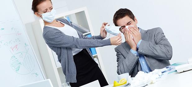 Allergie in ufficio