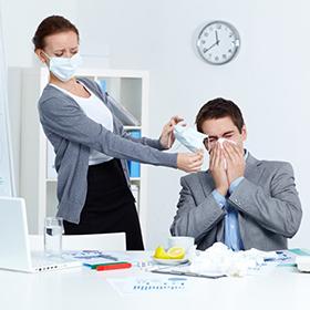 Le allergie in ufficio non vanno trascurate!