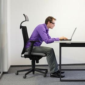 Com'è una postazione di lavoro ergonomica?