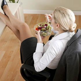 Come ricaricarsi durante la pausa pranzo