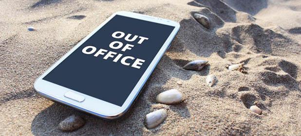 Staccare dal lavoro in vacanza