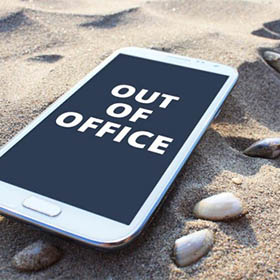 Come staccare dal lavoro in vacanza?